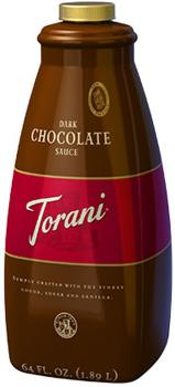 Torani - Dark Chocolate Sauce - 1890ml