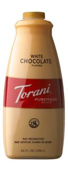 Torani - White Chocolate Sauce - Puremade - 1890ml
