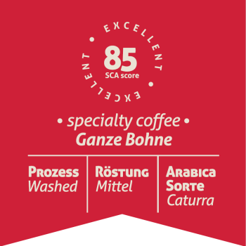 WORLDS ORIGINALS - Colombia Red Label - ganze Bohne - 250g