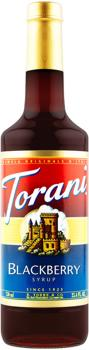 Torani - Blackberry - Classic Sirup - 750ml