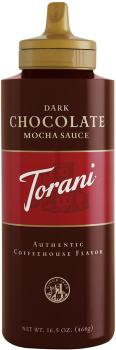 Torani - Dark Chocolate Sauce - 473ml